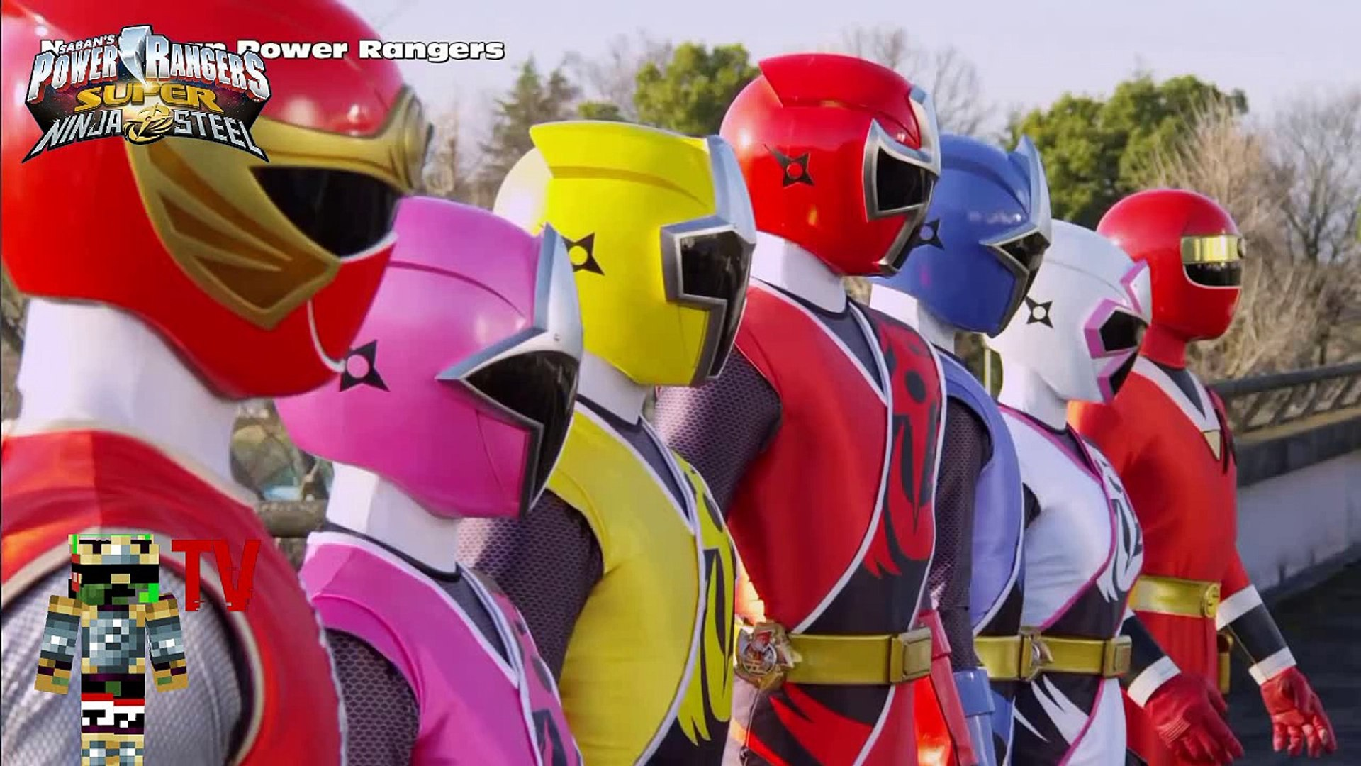 AVANT-PREMIERE PREVIEW - Power Rangers Super Ninja Steel