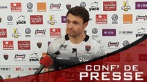 Conf' de presse d'après-match Toulon-Agen J20 TOP14
