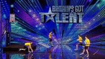 Face Team basketball acrobatics - Britain's Got Talent 2012 audition - International version
