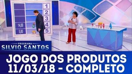 Jogo dos Produtos - 11.03.18 - Completo