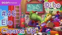 [Dibo the gift dragon] #46 Elo Cleans Up(ENG DUB)ㅣOCON
