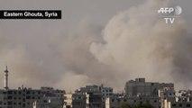 New air strikes pound Syria's Eastern Ghouta