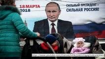 Russian ballot: Vladimir Putin promises he'll 'NEVER' return Crimea backward to Ukraine