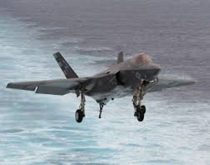 F-35C Sea Trials - US Navy Joint Strike Fighter Testing on Aircraft Carrier