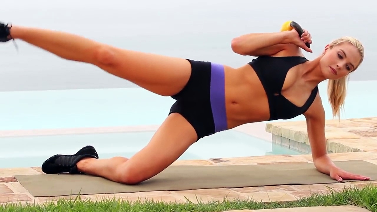 Abs Workout – Abs Workout with Kettlebells – Tone & Sculpt Your Abs – Music Only No Instructions