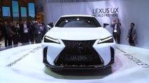 Lexus presented the new UX at the 2018 Geneva International Motor Show