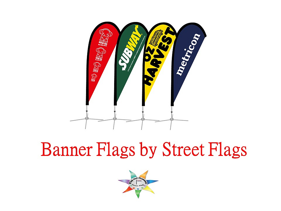Banner Flags | Bow Flags: Street Flag
