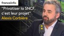 """""""Privatiser la SNCF, c'est leur projet"""", dénonce Alexis Corbière"""
