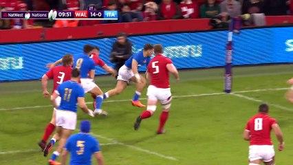 Short Highlights Wales v Italy  NatWest 6 Nations