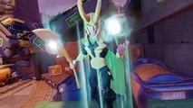 Thor and Iron Man VS Ultron and Loki Marvel Battlegrounds Disney Infinity 3.0