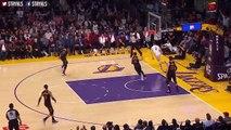 Lonzo Ball Misses Dunk _ Cavs vs LA Lakers