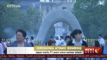 Japan marks 71 years since Hiroshima atomic bombing