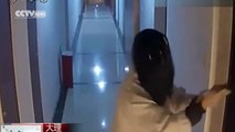 Watch: 'Ghost' arrested for smearing woman's front door with feces and urine for seven months