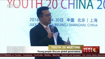 Youth 20 Meeting: Young people from G20 countries discuss global governance