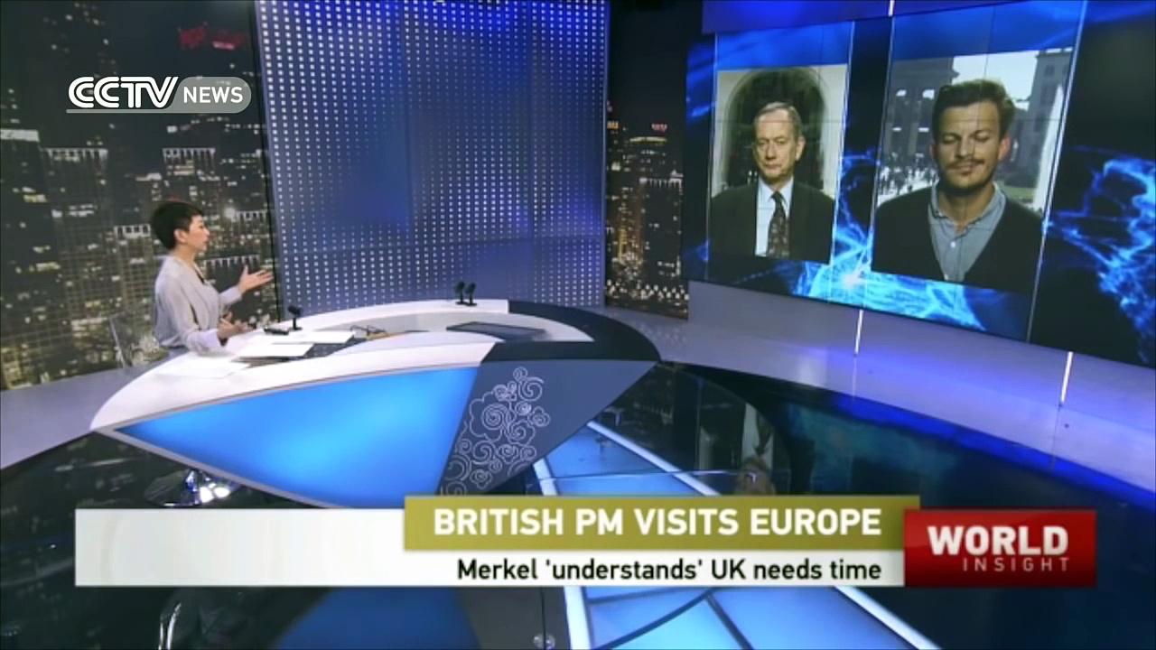 British PM visits Europe