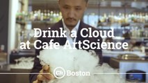 Drink a Cloud At This Food Science Cafe