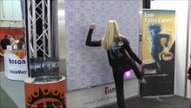 T-Wall Reaction Wall - Interactive Fitness Technology - Supplied by Axtion Tech