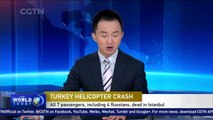 7 killed, including 4 Russians, after helicopter crashes in Istanbul
