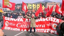 Clashes erupt between police and protesters at anti-far right group in Italy
