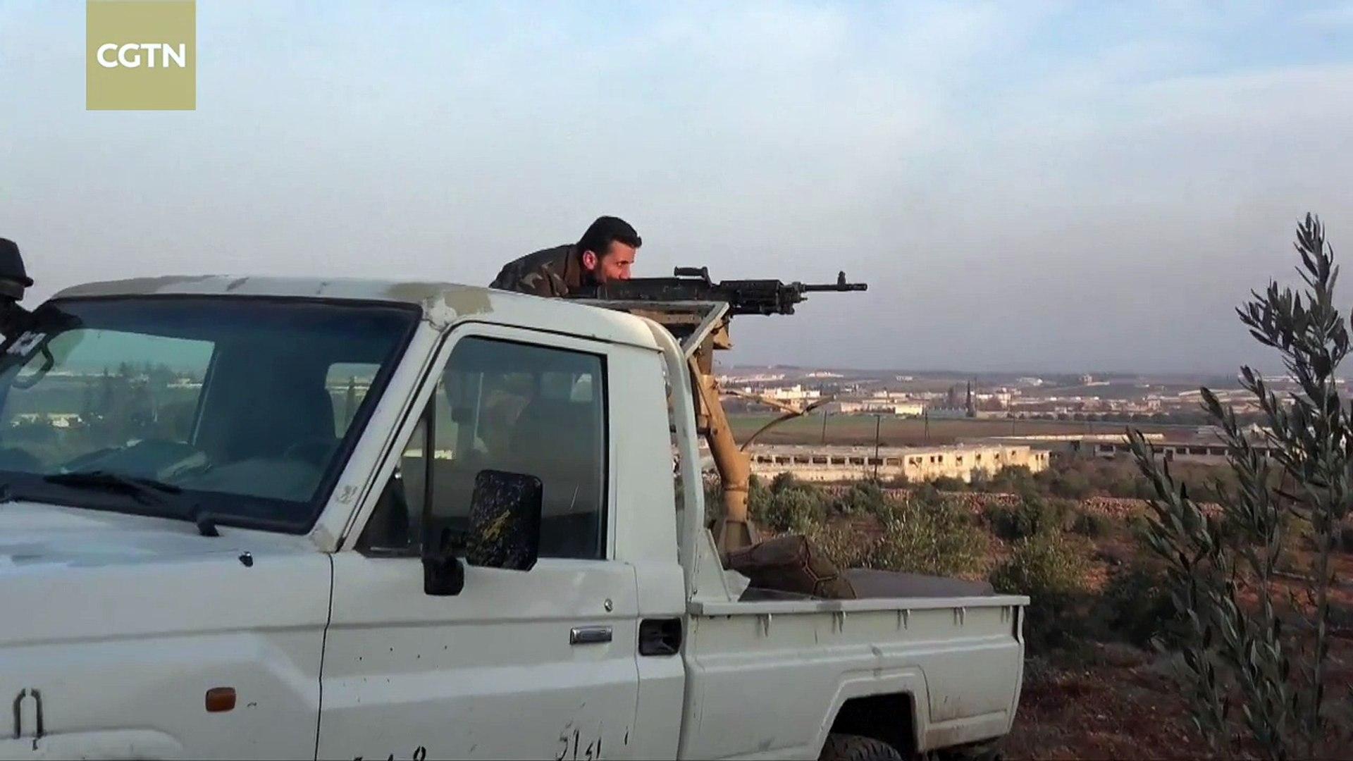 Turkey-backed Syrian rebels continue to battle ISIL near al-Bab