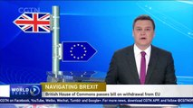 British House of Commons approves Brexit bill