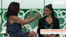 """Laurie Hernandez at BlogHer '17 - """"I got this."""""""