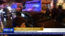 Turkey authorities search for 'lone gunman' responsible for nightclub attack