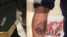 Liverpool FC Tattoo Timelapse!
