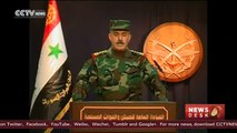 Syrian army claims complete control of Aleppo