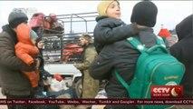 Evacuation plan back on track in Aleppo