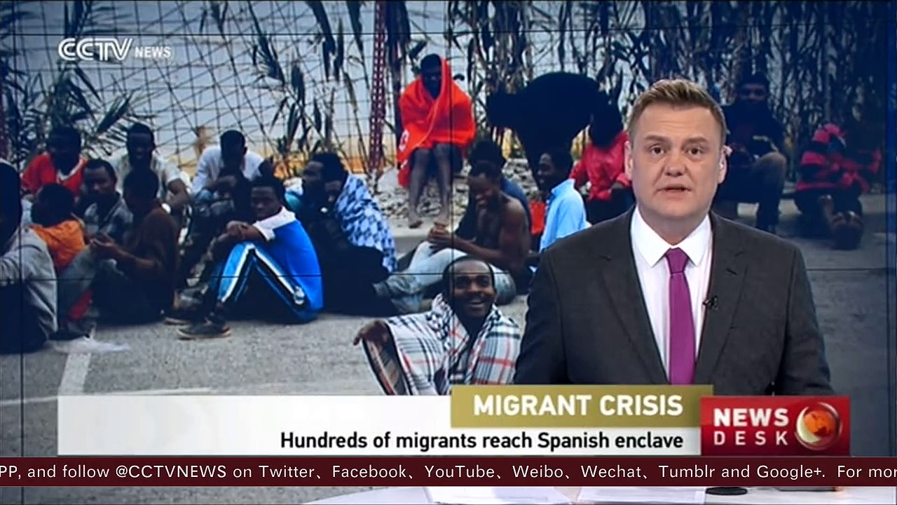 400 African migrants reach Spanish enclave Ceuta