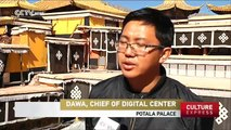 """Potala Palace in Lhasa, Tibet, gets annual whitewash with """"sweet"""" paint"""