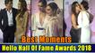 Best Moments | Hello Hall Of Fame Awards 2018 | Deepika Padukone, Shah Rukh Khan-Gauri Khan, Ranveer Singh