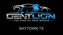 PDR   Paintless Dent Repair   Baytown TX   Dent Lion