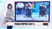 Mixed wheelchair curling team suffers first defeat.... loses to Germany 3-4