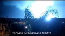 tornado caserta 2 (Violento tornado colpisce il casertano. Auto e camion ribaltati. VIDEO SHOCK )