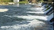 La CHC no logra identificar a los responsables de los vertidos contaminantes al Nalón en Oviedo