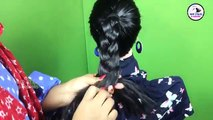 Easy Flower Bun Styles With Beads   Braided Flower Bun   Updo Hairstyles   Hair Styles & Fashions