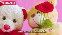 SORRY BABA SORRY (Male Version) सॉरी बाबा सॉरी गाना - Bojo Teddy Song - Funzoa Teddy Videos - march-2018