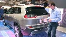 Jeep Cherokee : gros restylage - En direct du salon de Genève 2018