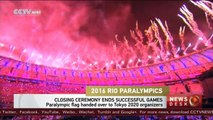 2016 Rio Paralympics: Closing ceremony ends successful games