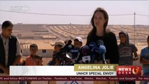 Syria crisis: Angelina Jolie lends voice to thousands of refugees