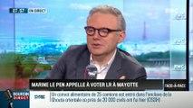Brunet et Neumann : Marine Le Pen appelle à voter LR à Mayotte - 16/03