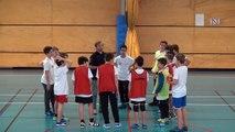 Séance de John Komar Coaches des ptits champions Handball Grand Est 2018