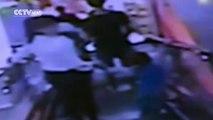 Rescue 911 Escalator Traps Boy - video dailymotion
