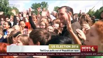 US election: Ted Cruz pulls out of Republican race