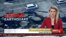 Death toll hits 44 in Japan earthquake