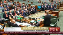 Australia parliament debates make-or-break labor reform