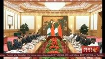 President Xi Jinping meets Nigerian President Buhari in Beijing