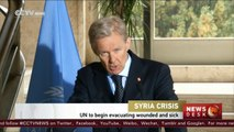 UN plans 'major' medical evacuation from Syrian towns
